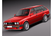Uitlaatsysteem BMW 316i 1.6 (E30|Touring)