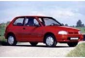 Uitlaatsysteem DAIHATSU Charade 1.3i - 16V (Hatchback)