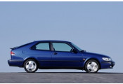 Uitlaatsysteem SAAB  9-3 2.0i, Aero Turbo - 16V (Cabrio, Coupé, Hatchback)